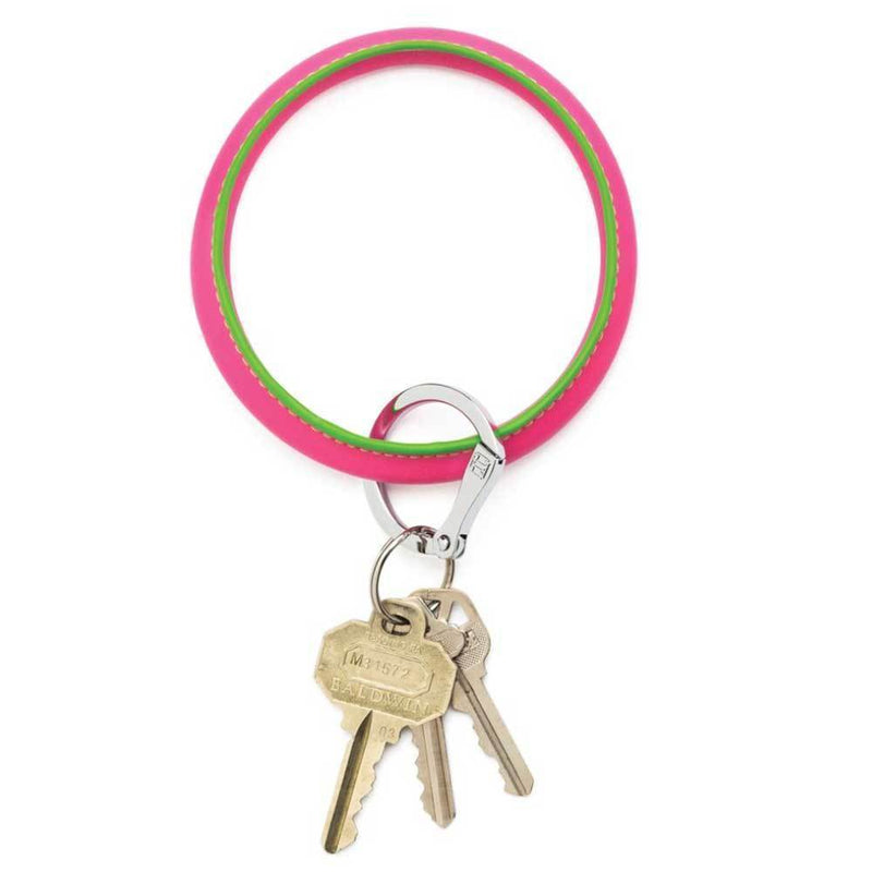 O-Venture Big O Key Ring - Tickled Pink Accessories O-Venture
