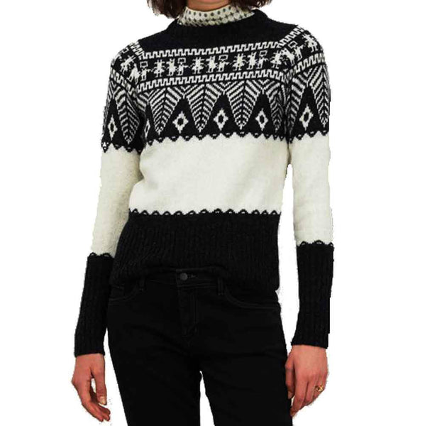 Officine Générale Anna Patterned Sweater