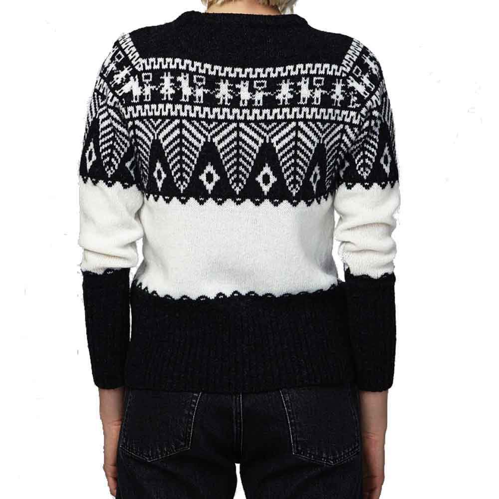 Officine Générale Anna Patterned Sweater Sweater Officine Generale