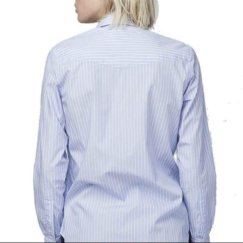 Officine Generale Gab Italian Twill Shirt tops Officine Generale