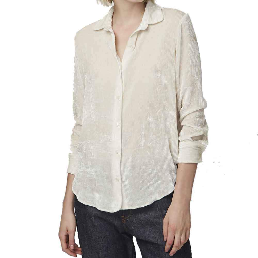 Officine Generale Iris Corduroy Shirt tops Officine Generale