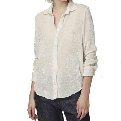 Officine Generale tops M / ECRU Officine Generale Iris Corduroy Shirt