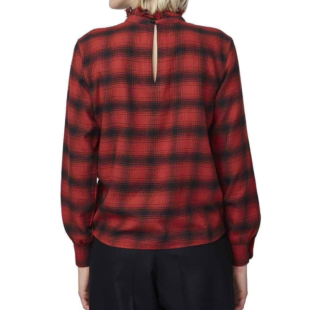 Officine Generale Sofia Checked Flannel Shirt tops Officine Generale