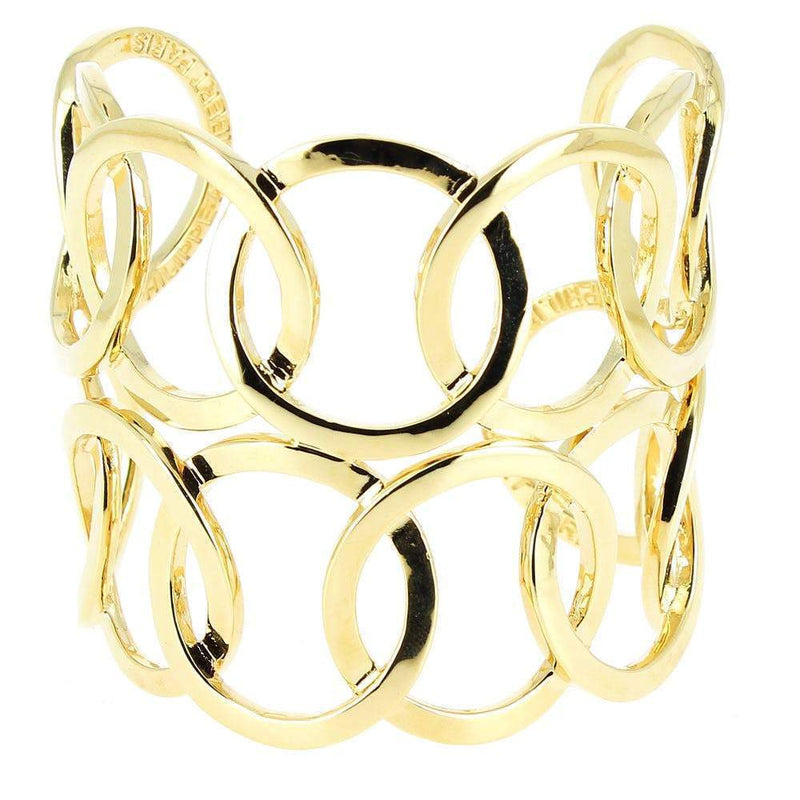 Philippe Audibert Bobby Gold Cuff Bracelet