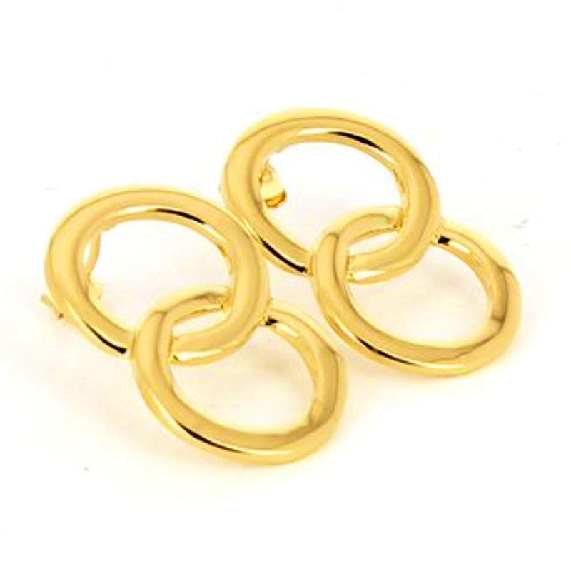 Maria Black Genie Hoop Gold Hoop Earrings