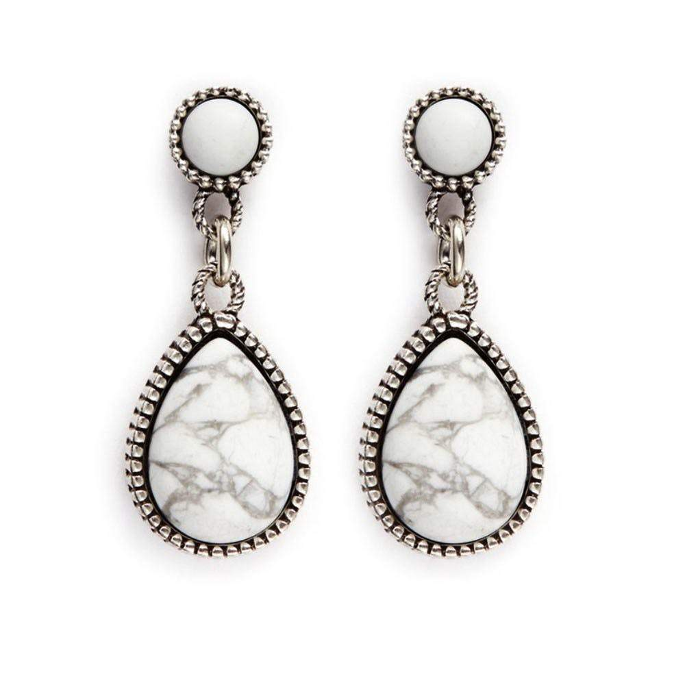 Philippe Audibert Crees White Earrings Jewelry Philippe Audibert