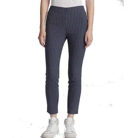 Rag & Bone Pants 4 / NAVY/WHITE Rag & Bone Simone Pin Stripe Back Yoke Pants