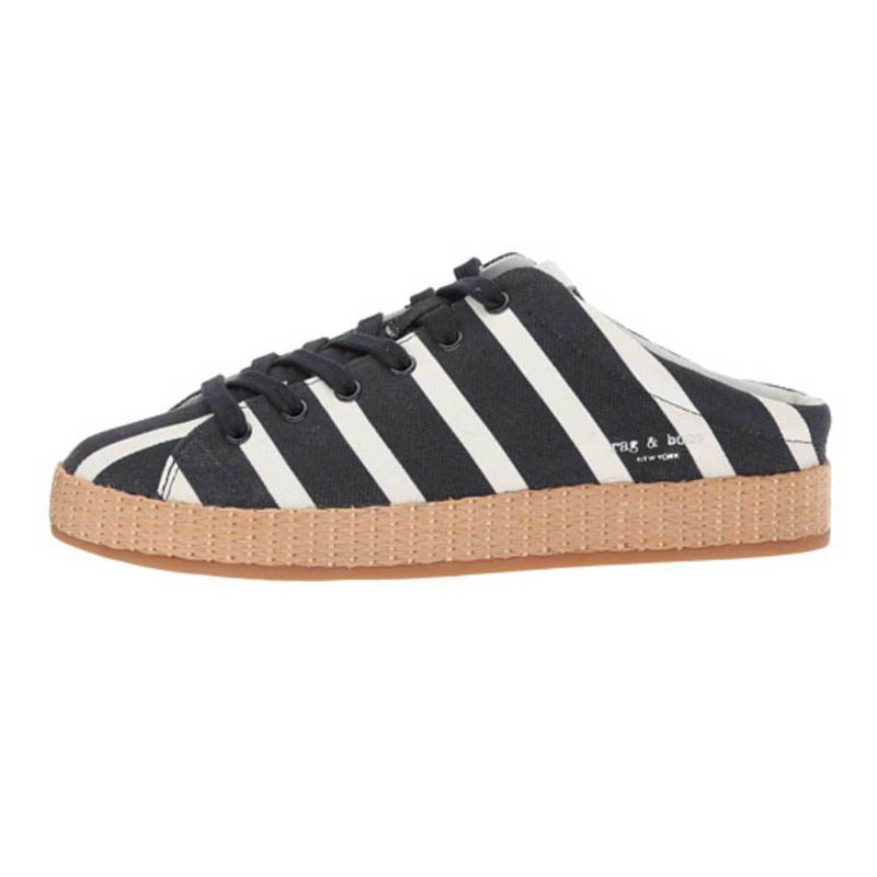 Rag & Bone RB1 Striped Mules Shoes Rag & Bone