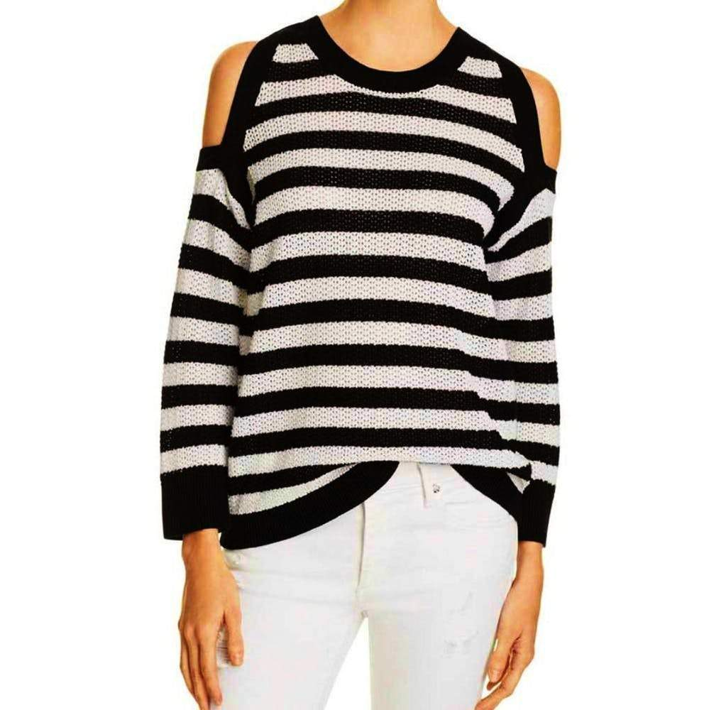Rag & Bone Tracey Stripe Crewneck Sweater Sweater Rag & Bone