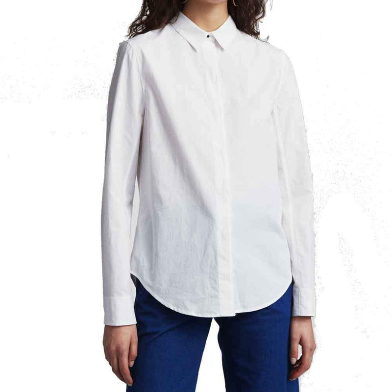 Rag & Bone Debbie Red Longsleeve Blouse
