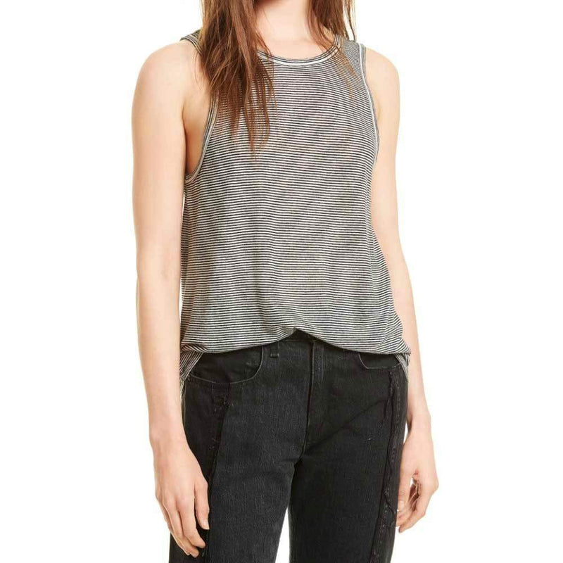 Rag & Bone Ryder Linen Tank Top tops Rag & Bone