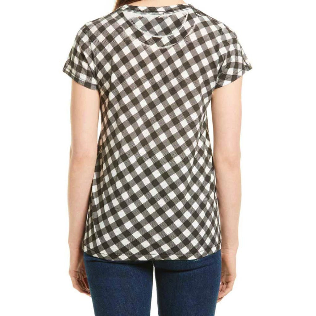Rag & Bone Gingham Print Slim Tee Tops M / Black and White Rag & Bone Gingham Print Tee Gingham Tee Knitwear Rag & Bone Rag & Bone Jeans Rag and Bone Rag and Bone Jeans Collection Short Sleeve Top Top $115.00 GordonStuart.com