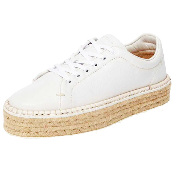 Rag & Bone Kent Espadrille White Leather Sneakers