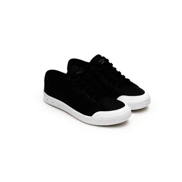 Rag & Bone Standard Issue Black Leather Lace Up Sneaker Shoes 37 / Black Rag & Bone black Fashion Lace-up Leather Rag & Bone Rag and Bone Sale Sneakers Spring 2016 standard issue Tennis Shoes $112.50 GordonStuart.com