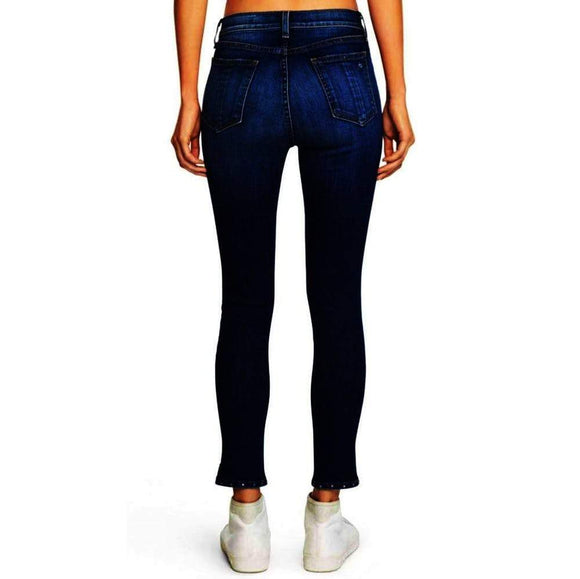 Rag & Bone/JEAN 10 inch Capri with Slit Stud Cadiz Jeans 27 / Blue Rag & Bone 10 inch Bestseller Capri Jeans Rag & Bone Rag and Bone Rag and Bone Jeans Collection Skinny jeans Studded $295.00 GordonStuart.com
