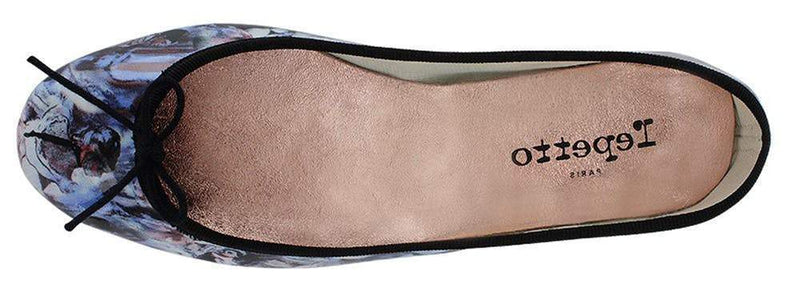 Repetto Cendrillon Pastel Print Patent Leather Ballerina Flat Shoes Repetto