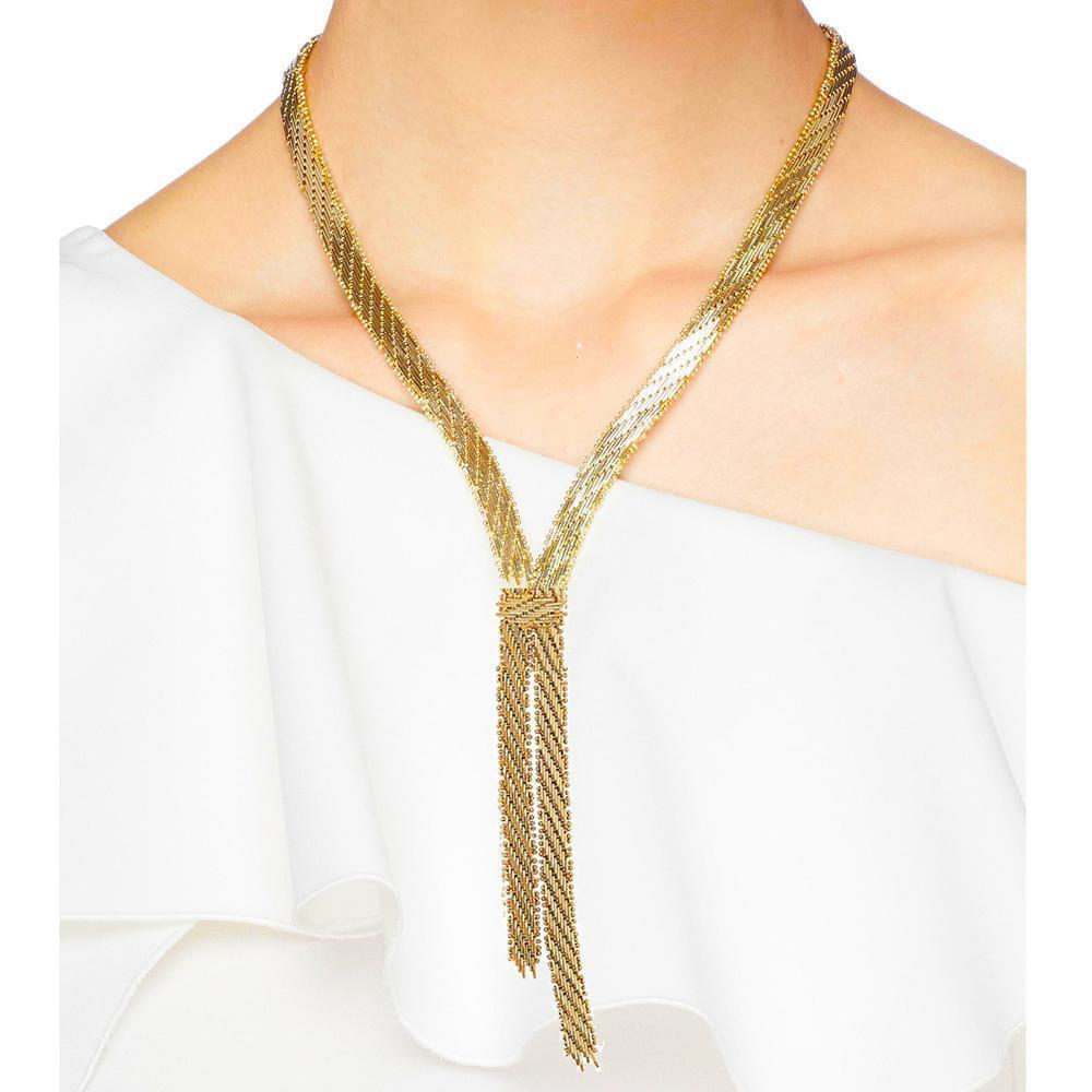 Rosantica Volutta Long Rope Necklace Jewelry Rosantica