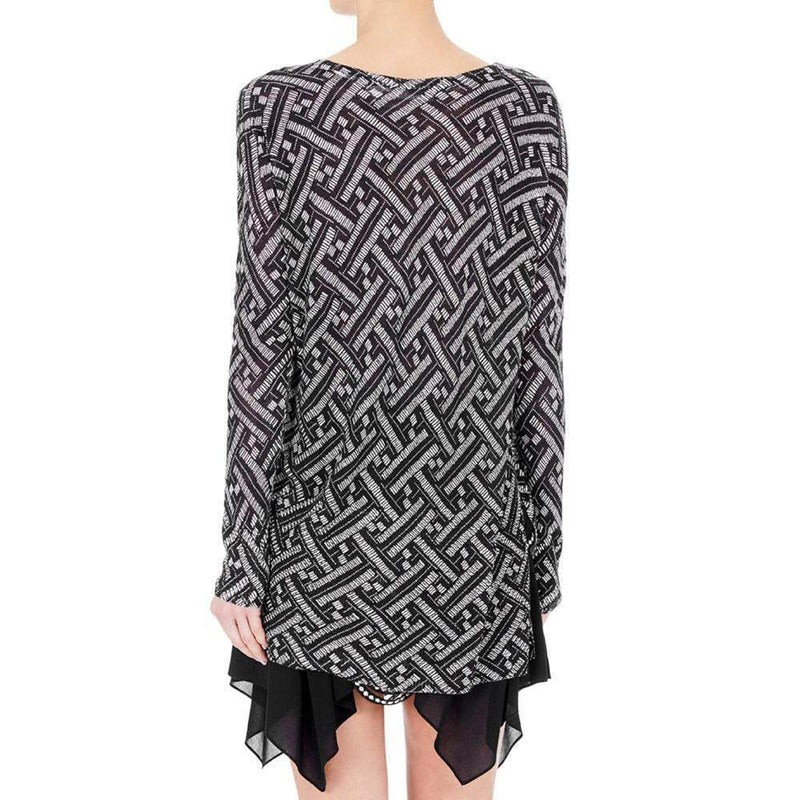 Sass and Bide Heavens Parasol Black-White Sweater Sweater Sass & Bide