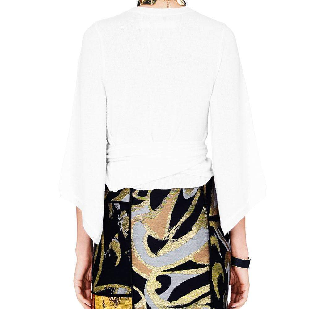 Sass and Bide The Ethereal Ivory Cashmere Top tops Sass & Bide