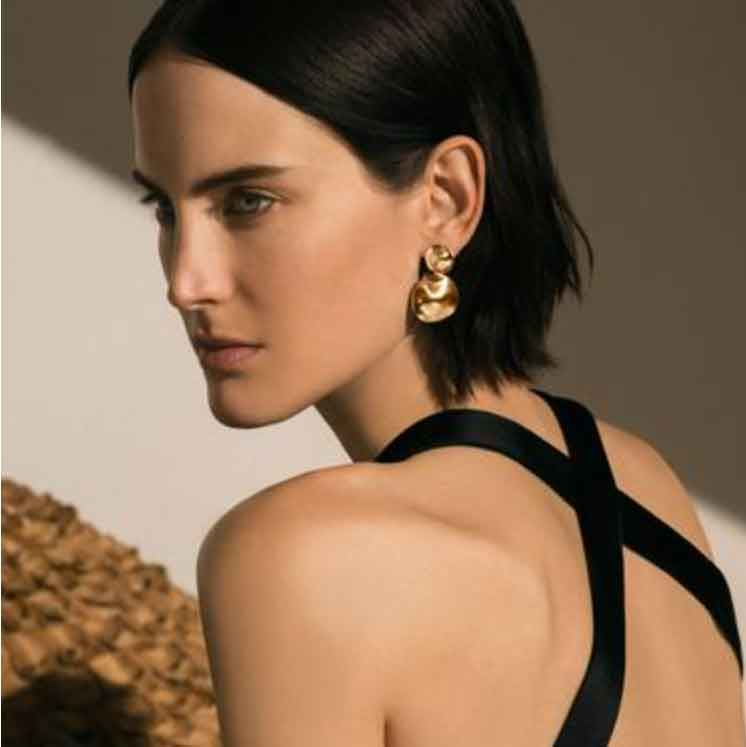 AGMES Short Stella Earrings