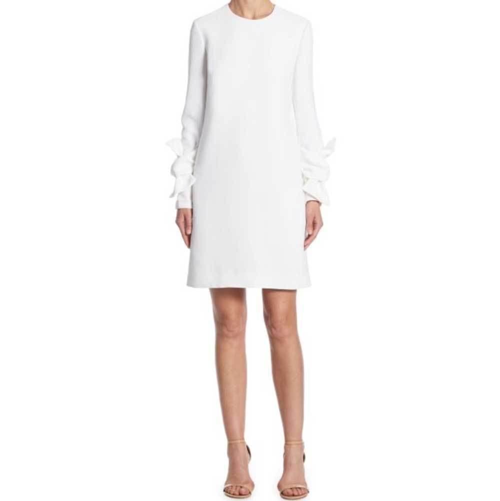 Victoria Victoria Beckham Twist Sleeve Shift Dress Dress victoria victoria beckham