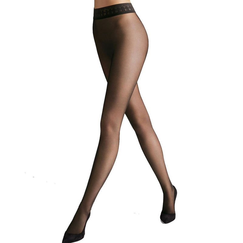 Wolford Fatal 15 Black Tights Hosiery Wolford