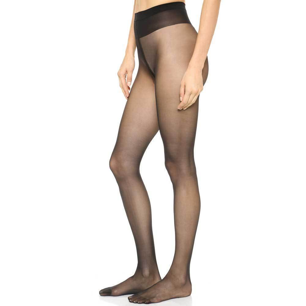 Wolford Individual 10 Black Tights Hosiery Wolford