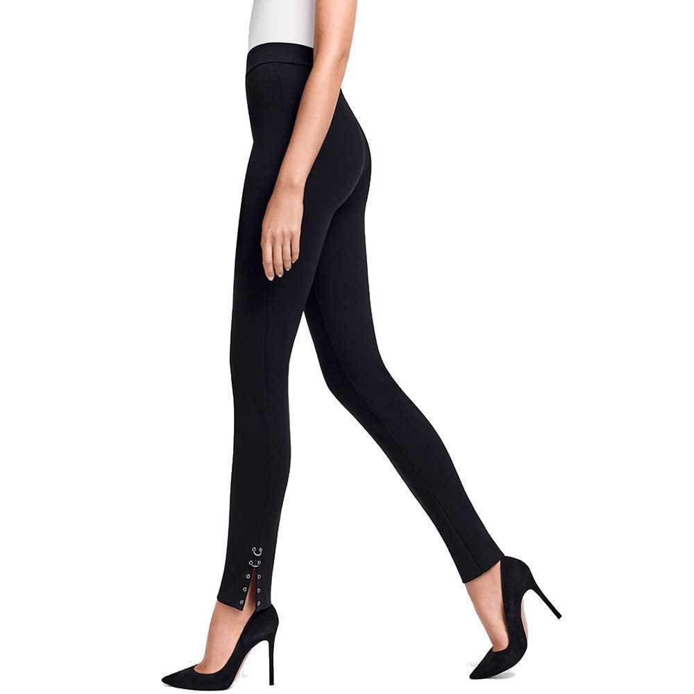Wolford Debbie Black Leggings Pants Wolford