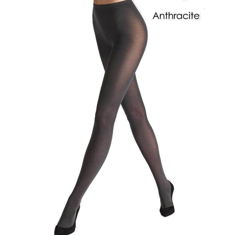 Wolford Pure 50 Anthracite Tights Pants Wolford