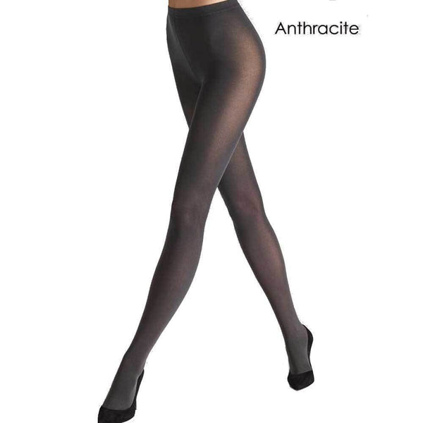 Wolford Pants XS / Anthracite Wolford Pure 50 Anthracite Tights