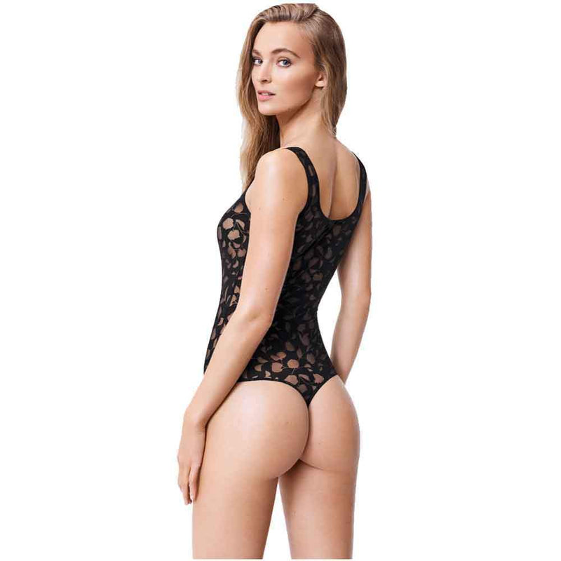 Wolford Camelia Thong Bodysuit Wolford