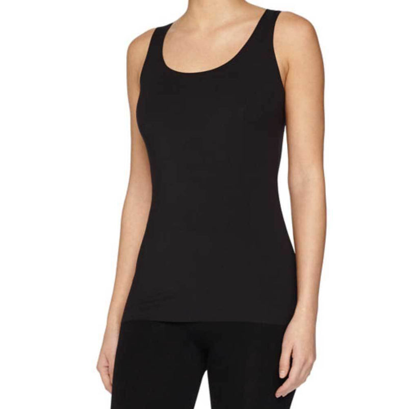 Wolford Pure Black Tank Top Tops Wolford