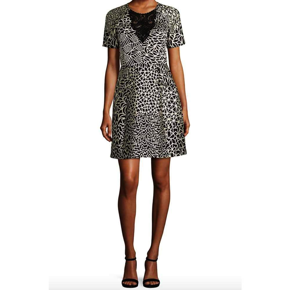 Yigal Azrouel Patchwork Dress Dress Yigal Azrouel