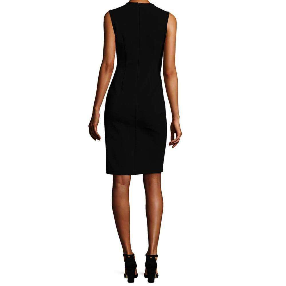 Yigal Azrouel Lace Up V-Neck Dress Dress Yigal Azrouel