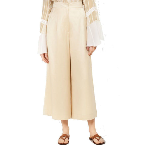 Zeus Dione Dress 38 / LIGHT GOLD Zeus + Dione Priam Cropped Full Leg Pant
