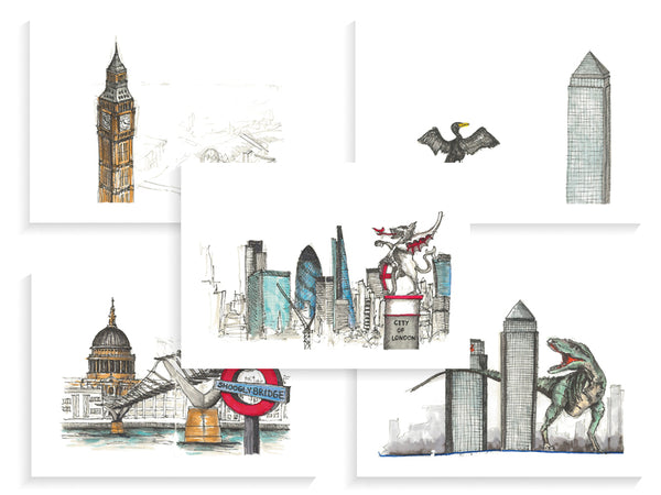 Mini Prints - London