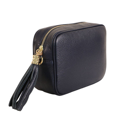 Keswick Crossbody Premium Leather Handbag - Lusso Borsetta