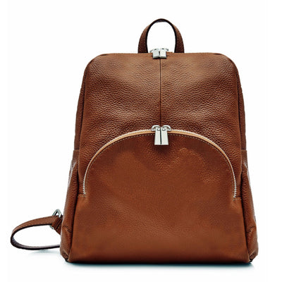 Alessa Italian Soft Leather Ladies Backpack - Lusso Borsetta