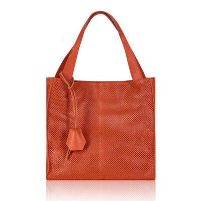 Alice Italian Ladies Soft Leather Tote - Lusso Borsetta