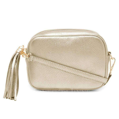 Camila Italian Leather Crossbody Bag - Lusso Borsetta
