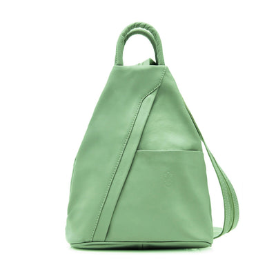 Emilia Italian Soft Leather Backpack - Lusso Borsetta