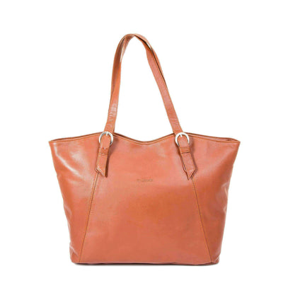 Ozzell Soft Leather Tote Bag - Lusso Borsetta