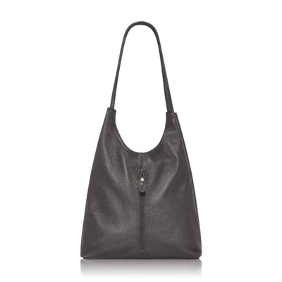 Saluzzo Low Slung Leather Shoulder Bag - Lusso Borsetta