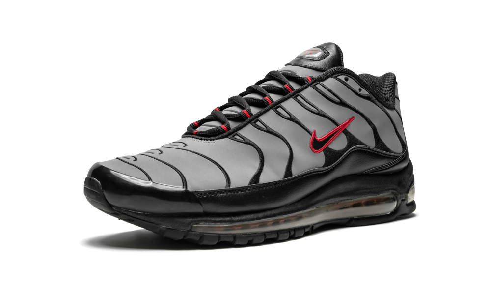hot sales ecced fe82c Air Max Plus 97 SL COOL GREY/BLACK-VARSITY RED