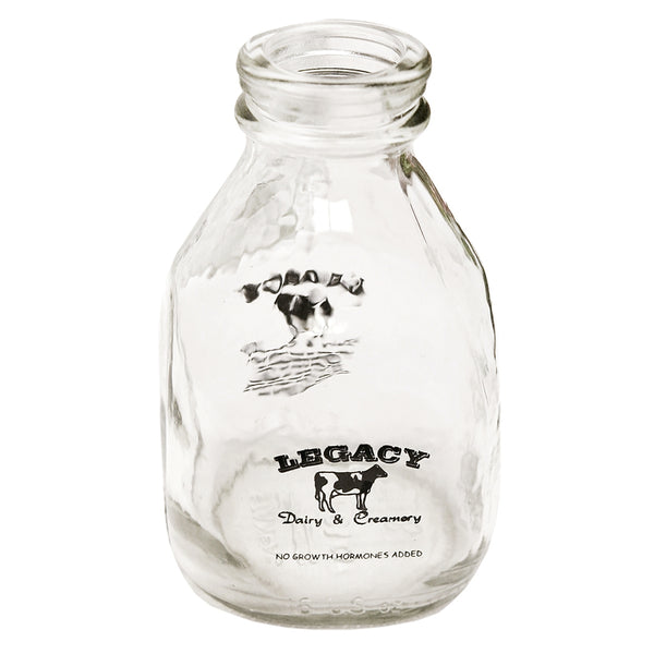 Authentic Dairy Glass Milk Bottle