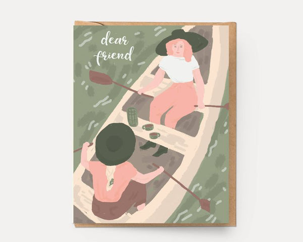 Water Days Greeting Card