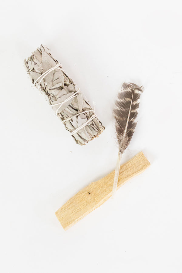 Cleansing Smudge Set