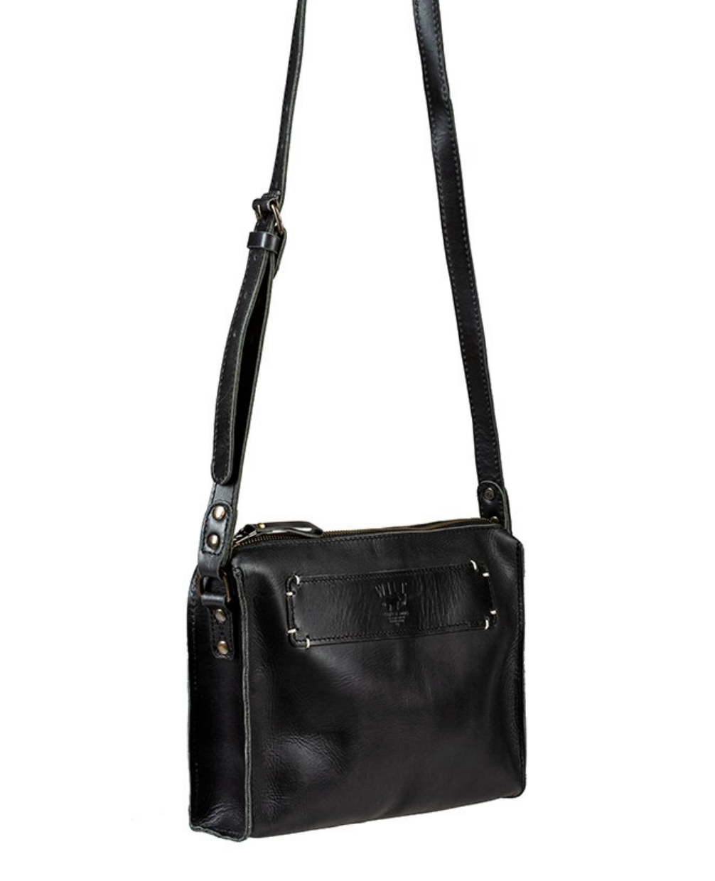 Simple Crossbody- Black