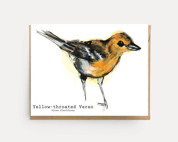 Animal Watercolor Greeting Card