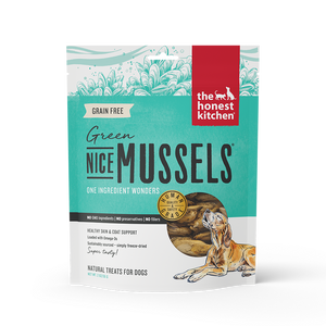The Honest Kitchen Nice Mussels Green Mussels Dog Treats